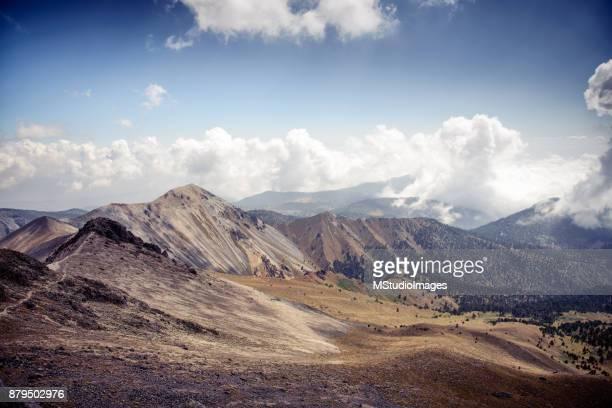 Beautiful view on Nevado de Toluca