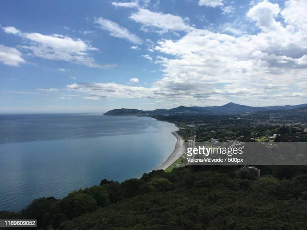 beautiful view - dalkey stock pictures, royalty-free photos & images