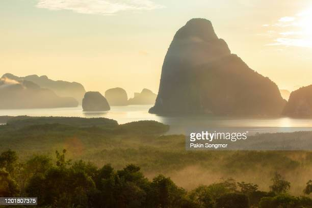 beautiful view point at samet nang she - paysage enchanteur photos et images de collection