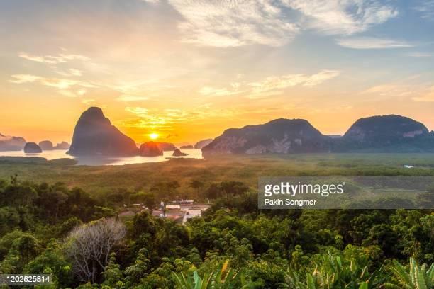 beautiful view point at samet nang she - インド洋 ストックフォトと画像