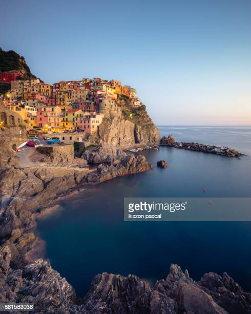 Beautiful village of Cinque terre in Liguria , Italy