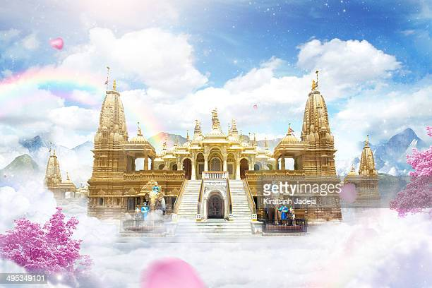 a beautiful visualization of heaven - paradise stock pictures, royalty-free photos & images