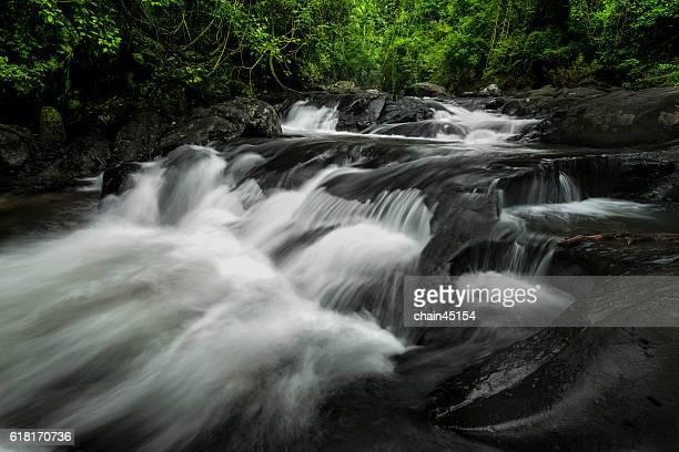 Beautiful waterfall in Hua hin southeast asia Thailand.