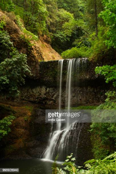 Beautiful waterfalls of Silver Falls State Park, Oregon