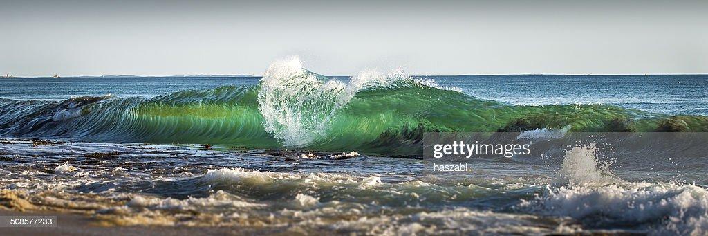 美しい波 : ストックフォト