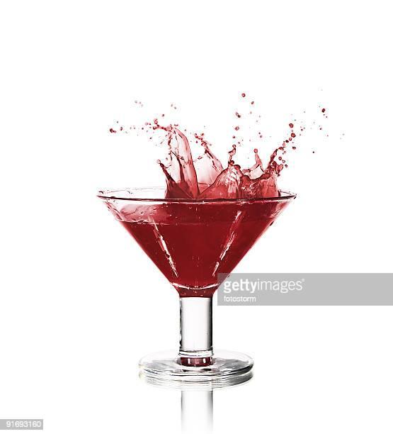 Beautiful wine splash