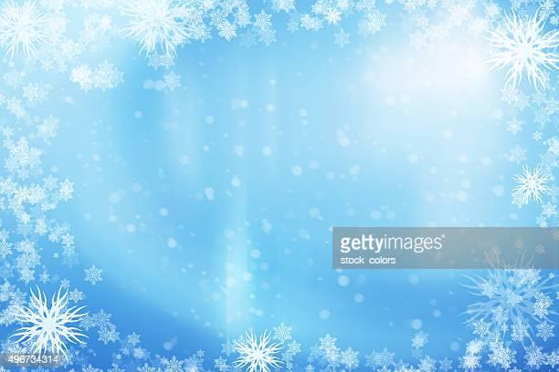 beautiful winter frame