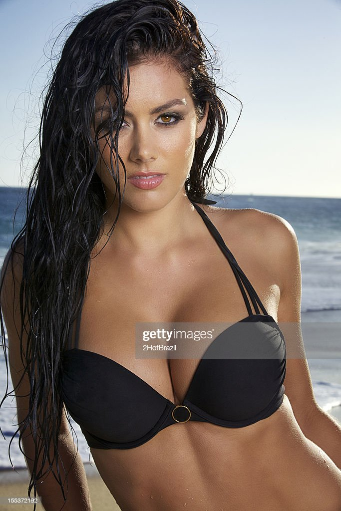 Beautiful woman at the beach : Stock Photo