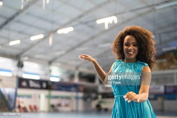 beautiful woman dancing samba - samba stock pictures, royalty-free photos & images