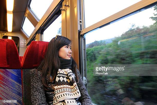 Beautiful Woman Enjoy Trip