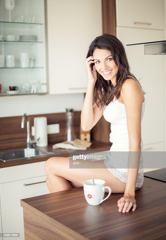 Sexy women in the kitchen