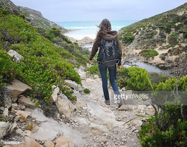 Beautiful woman hiking, Australia (XXXL)