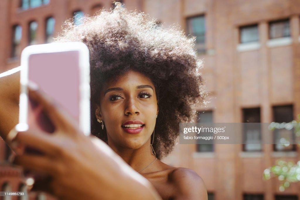 Beautiful Woman In New York : Stock Photo