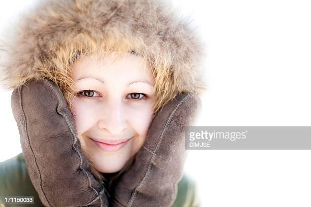 Beautiful woman in outdoor