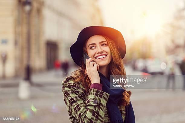Belle femme à Paris