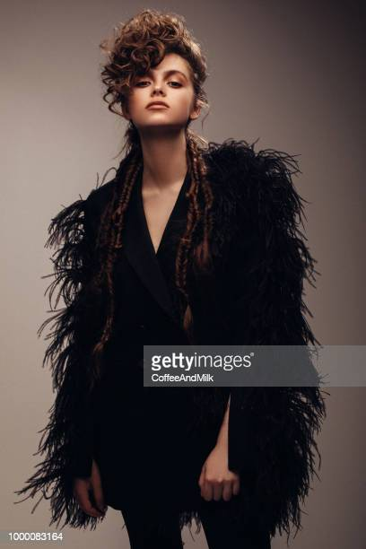 beautiful woman - high fashion stock pictures, royalty-free photos & images