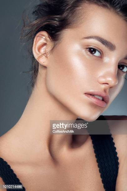 beautiful woman - make up stock pictures, royalty-free photos & images