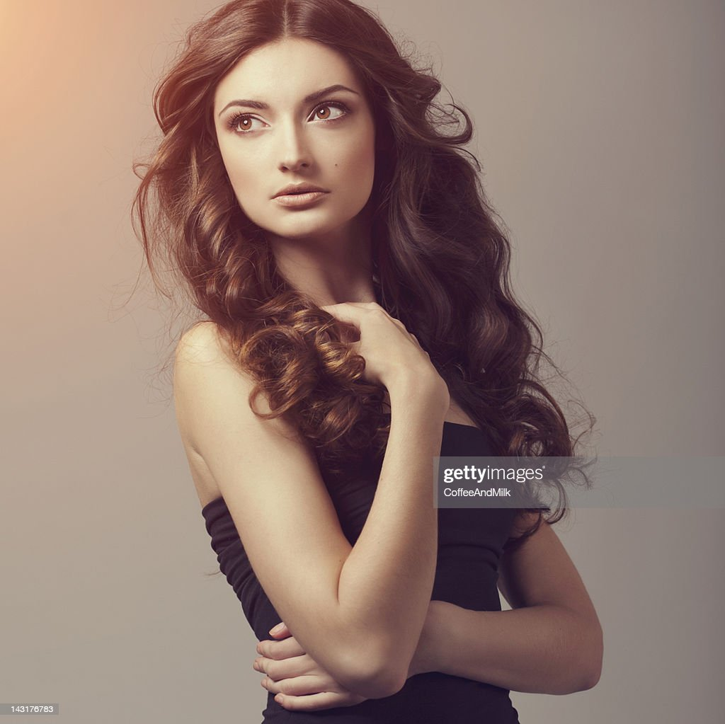 Identity Is Beauty For Sickymagazine Com Photography Lobke: Beautiful Woman High-Res Stock Photo