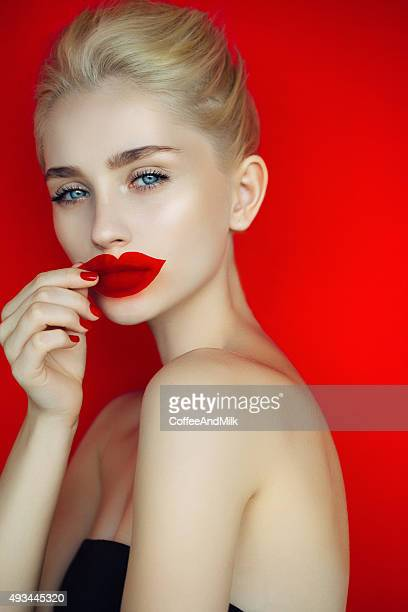 beautiful woman - fake stock pictures, royalty-free photos & images