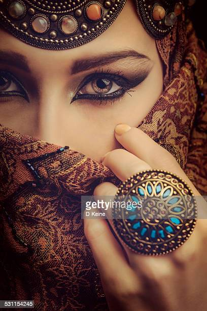beautiful woman - persian stock photos and pictures