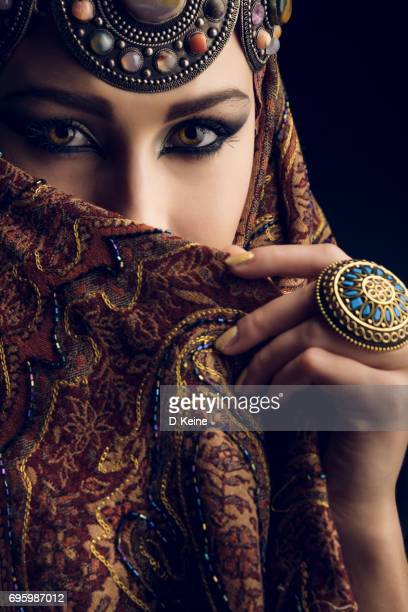 beautiful woman - north africa stock photos and pictures