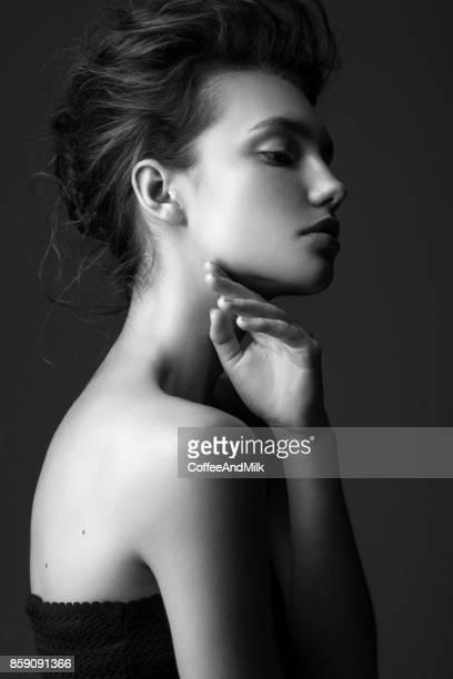 美しい女性 - ファッションモデル ストックフォトと画像