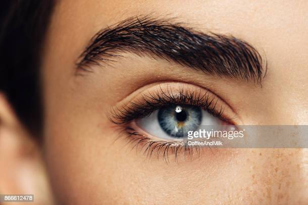 beautiful woman - staring stock photos and pictures