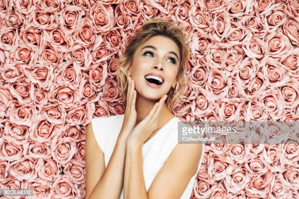 beautiful woman - wedding role stock photos and pictures