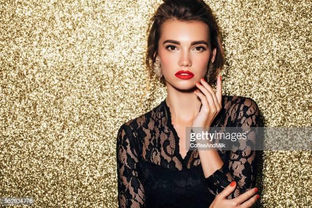 beautiful woman - modella per artisti foto e immagini stock