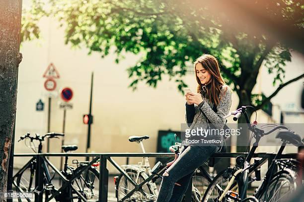 Belle femme SMS