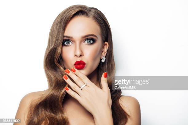 beautiful woman with long hair - hair love stock pictures, royalty-free photos & images