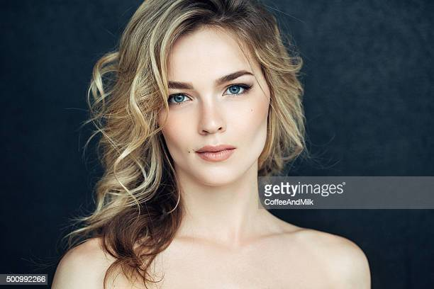 Beautiful woman with make up