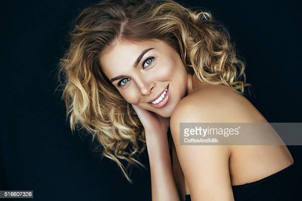 beautiful woman with make-up - perfection stock pictures, royalty-free photos & images