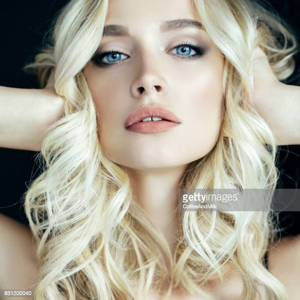 beautiful woman with make-up - beautiful sexy body stock photos and pictures