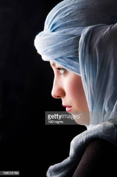 belle femme avec culture touareg - femme touareg photos et images de collection