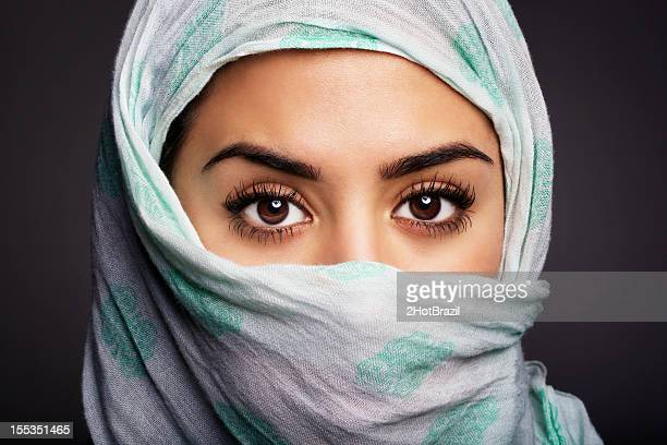 Beautiful women wearing a Hijab