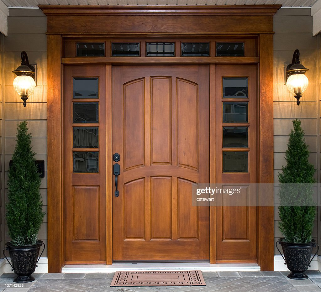 Beautiful Wooden Door & Front Door Stock Photos and Pictures | Getty Images