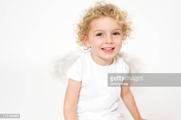 Belle jeune Ange