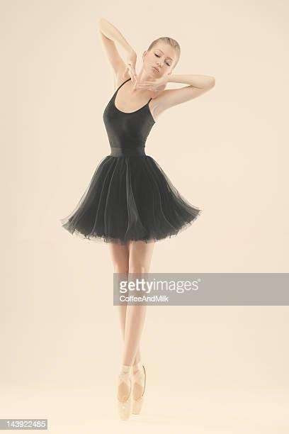 Beautiful young ballerina