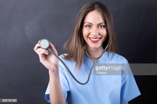 Beautiful Young Doctor