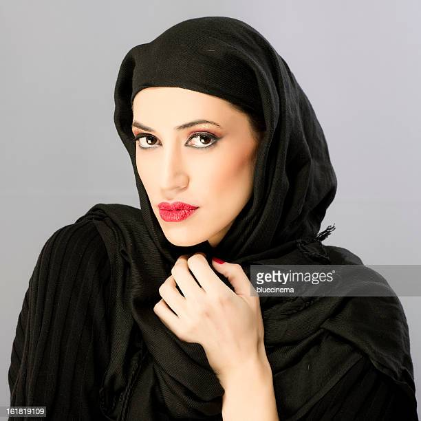 beautiful young woman - iranian woman stock photos and pictures