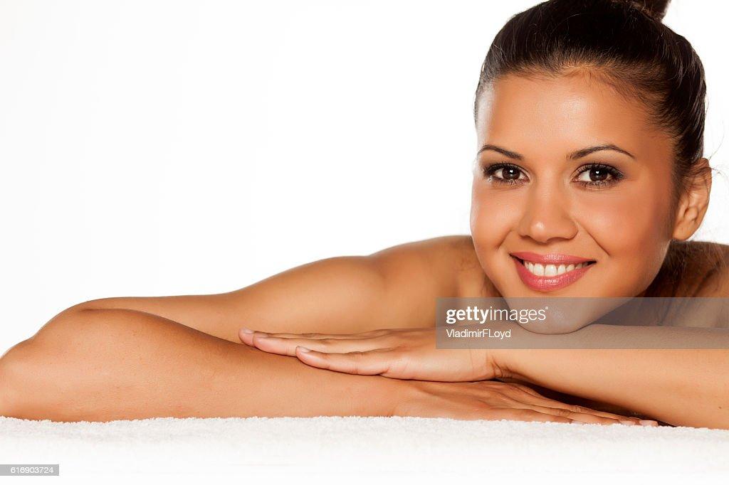 beautiful young woman : Stock Photo