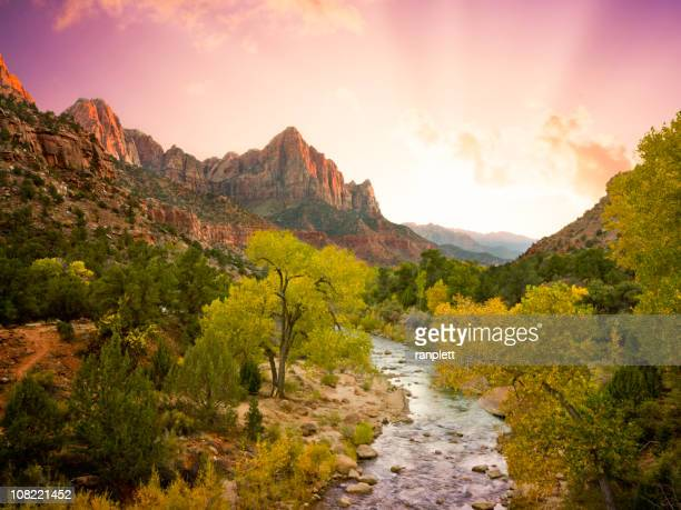 Beautiful Zion National Park Landscape (XXL)