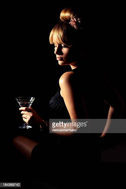 Beauty and a martini