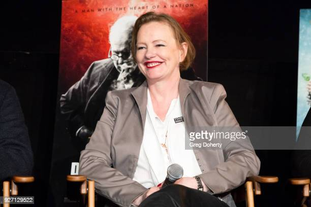 Beauty and the Beast and Darkest Hour Set Decorator Katie Spencer attends the 2018 OscarNominated Production Designers And Set Decorators Panel...