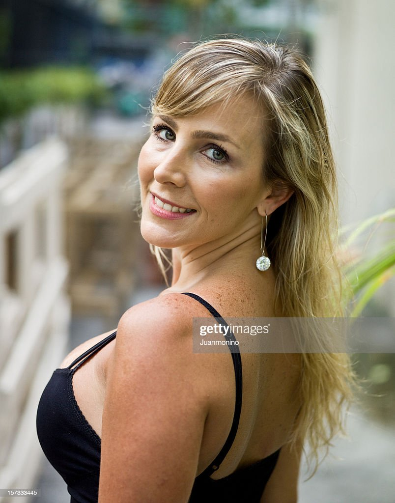 Beauty at her forties : Stock Photo
