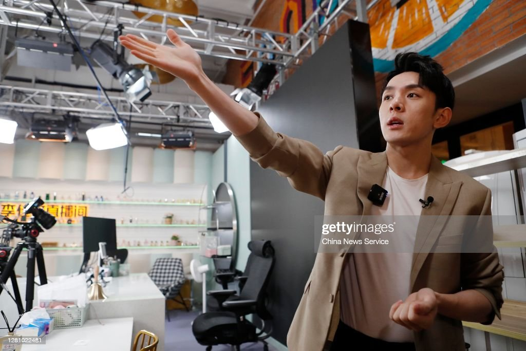 Li Jiaqi's Livestreaming Studio In Shanghai : News Photo