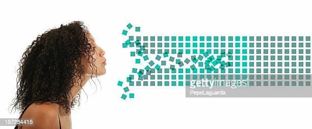 Belleza enviar datos (creative vida digital
