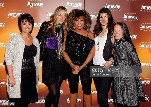 Beauty Brand Managing Director for Amway Barb Alviar Actress/model Molly Sims Music Legend Tina Turner Model/actress Summer Rayne Oaks and CoOwner of...