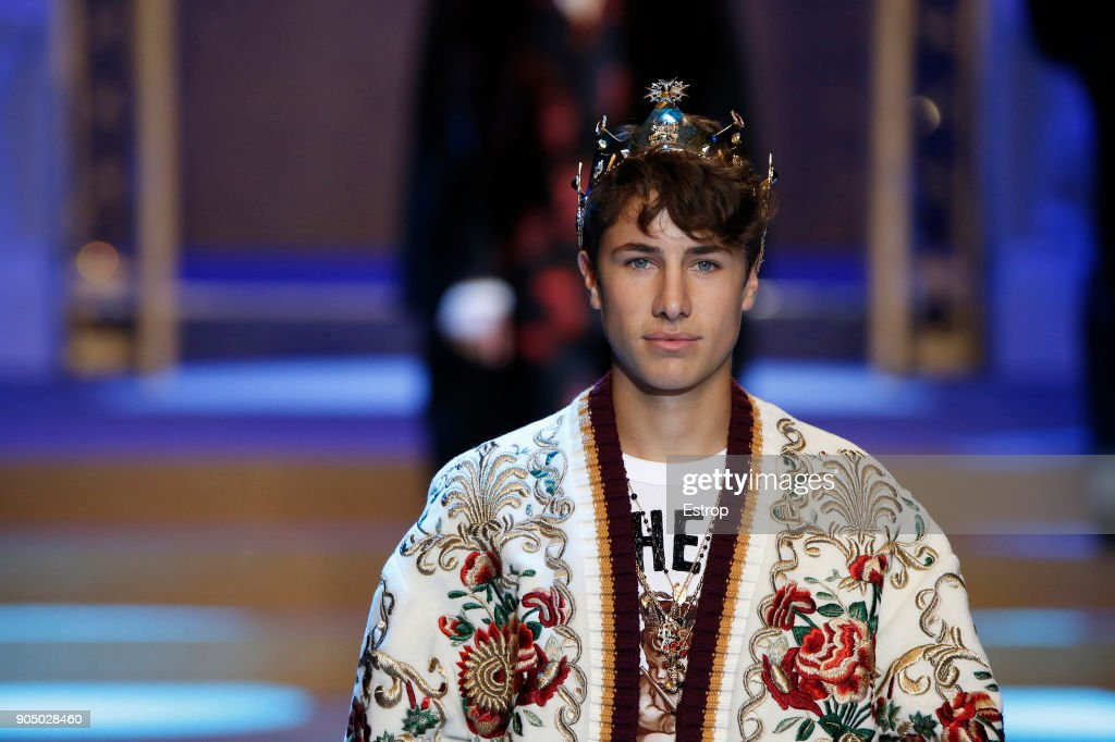 Dolce & Gabbana - Runway - Milan Men's Fashion Week Fall/Winter 2018/19
